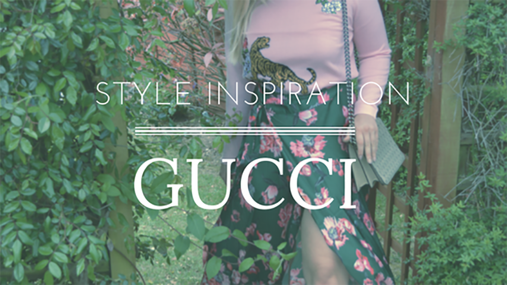 Style Inspiration: Gucci