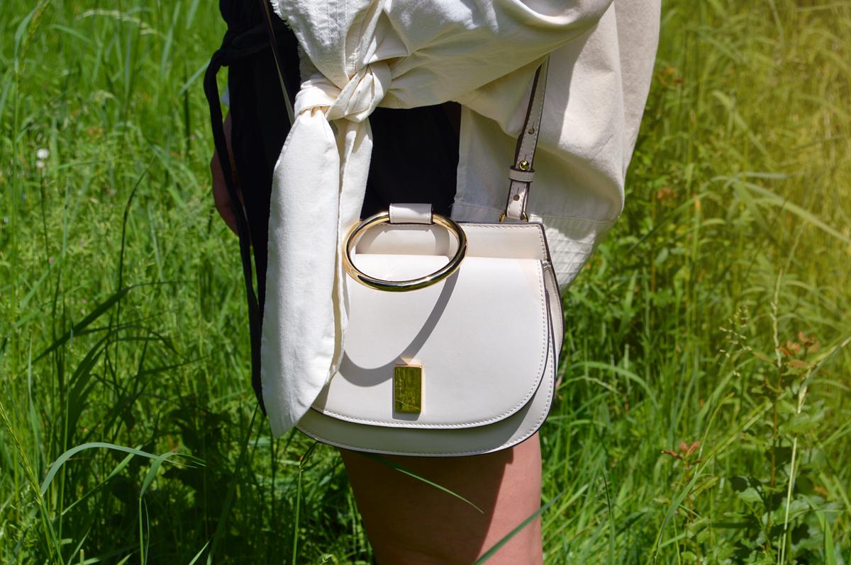 Mango cream ecru bag - dupe for the Chloé Nile Bag