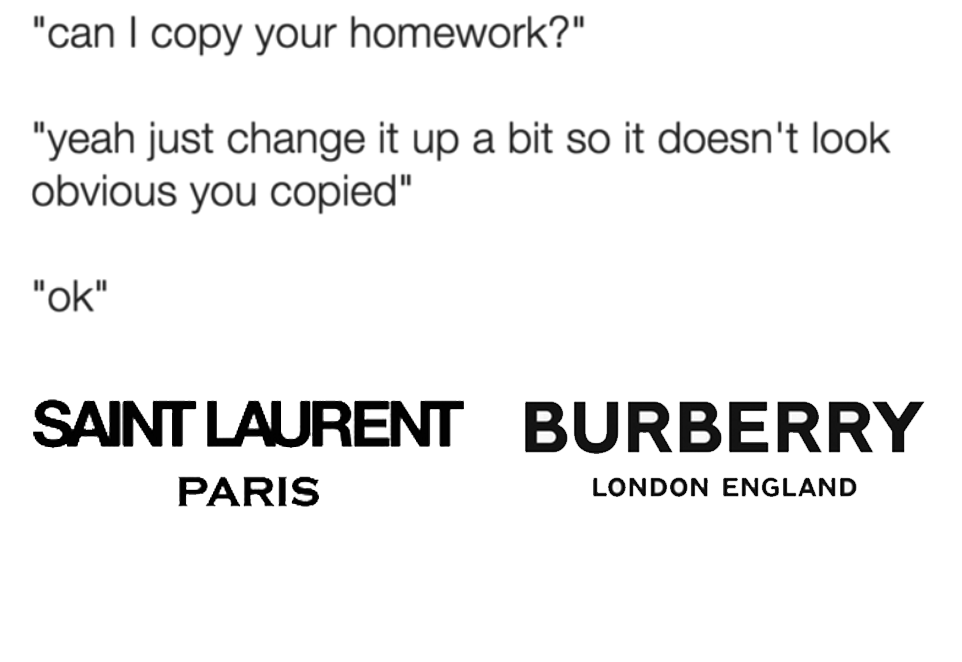 Can I copy your homework? sure just change it up a bit so it doesn't look obvious... ok.